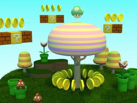 Mario World Bonus Phase