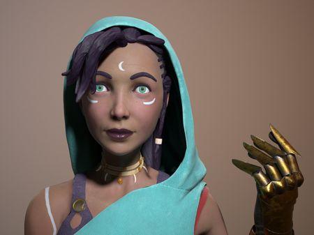 Kahina (Real-Time Character)