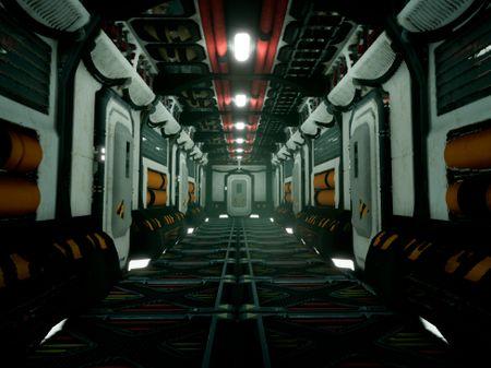 SciFi Corridor/Substance Designer
