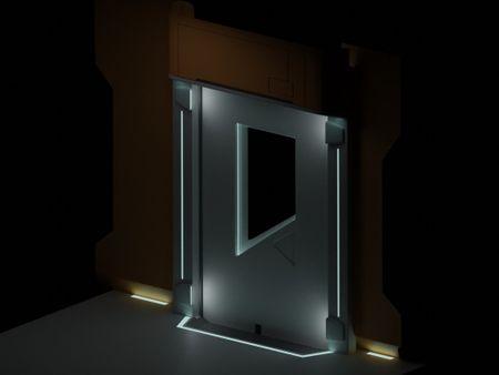 Weekly Drill - Space Door