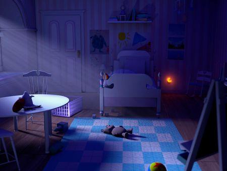 Boo's room