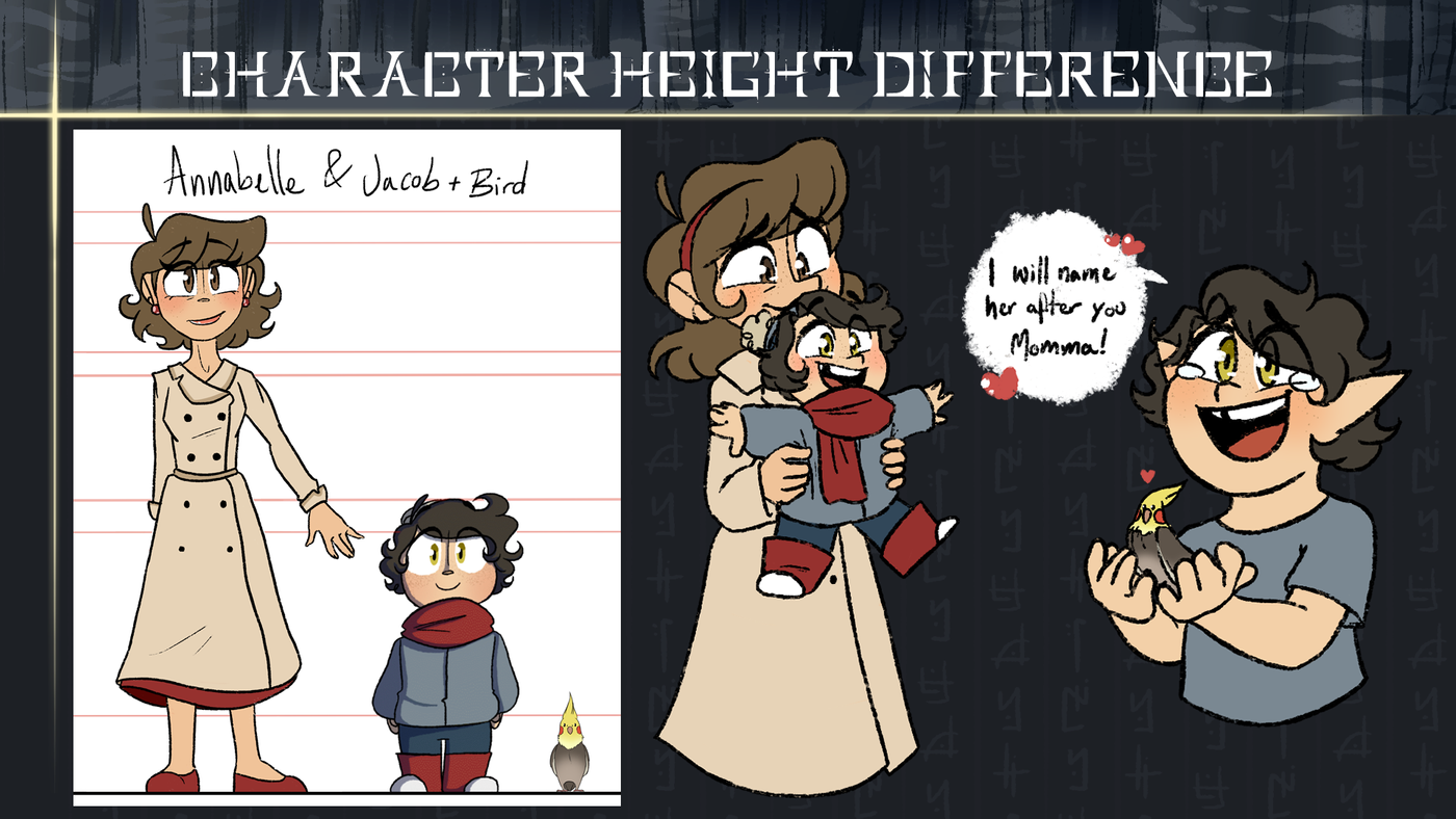 27 Height Differences Celinaserrao
