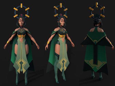 The Jade Lady ( by Ian Su )