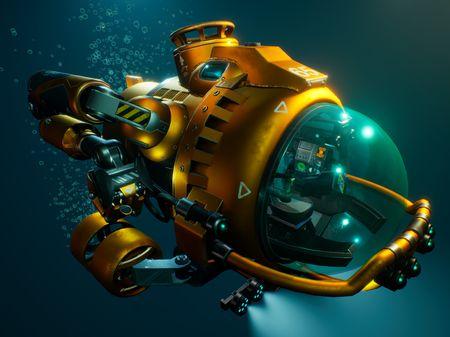 Personal Underwater Utility Vehicle