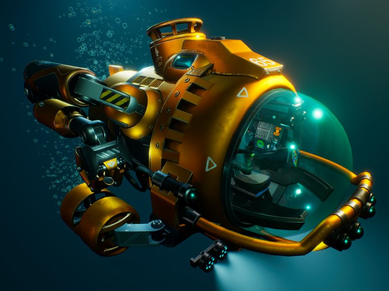 Personal Underwater Utility Vehicle