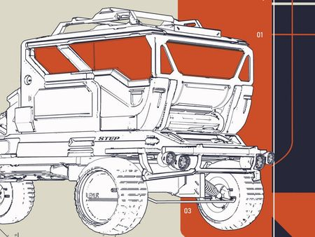 Modular cargo vehicle