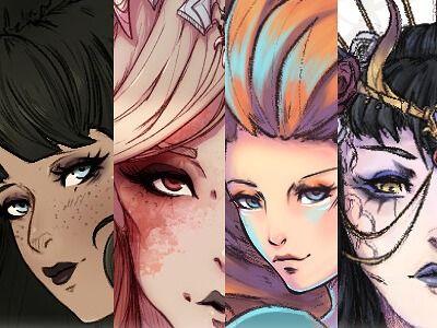 Character Design Portfolio 2020