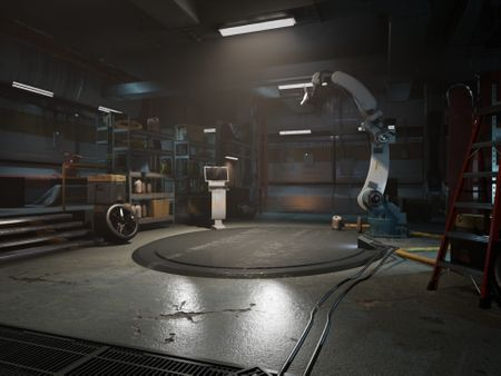 Future is now: Sci-fi environment and assets
