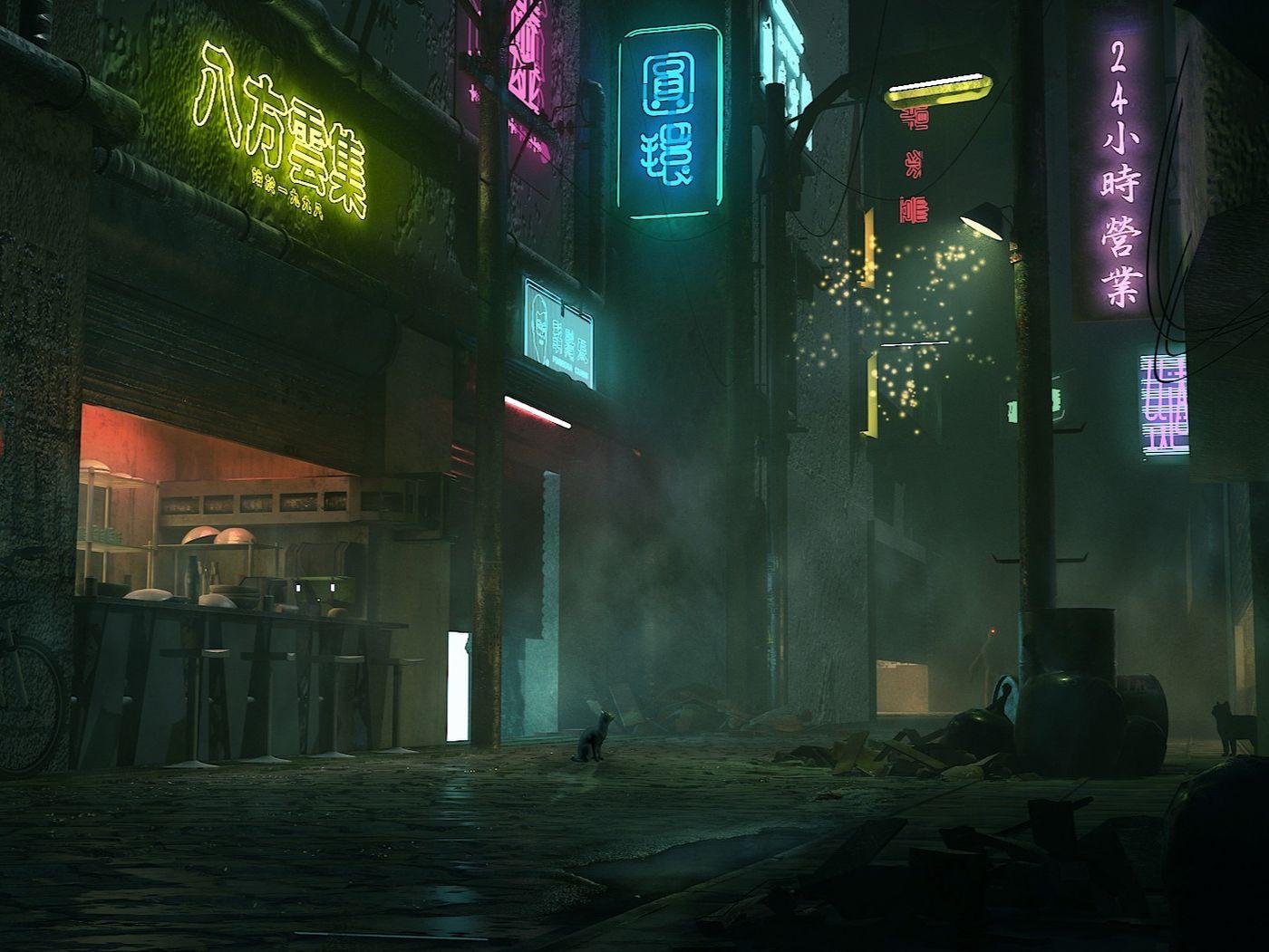 Cyberpunk Alley