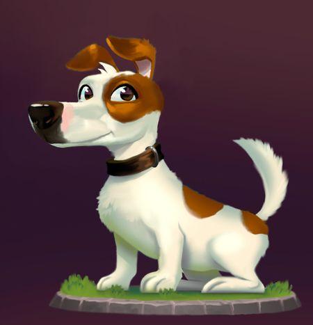 Billz the dog
