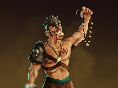 The Mad Gladiator Tooth Collector