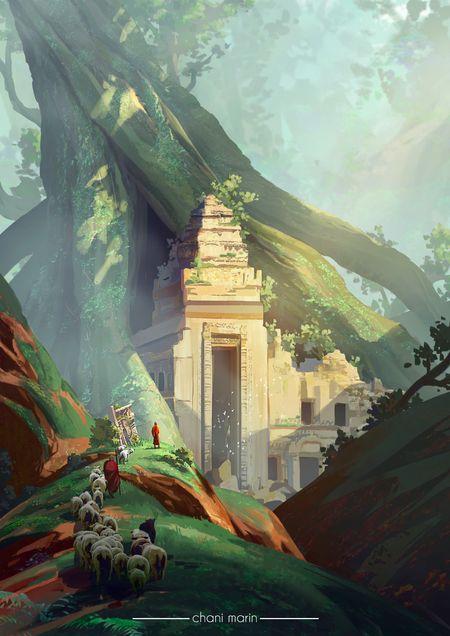 Khmer's Temple