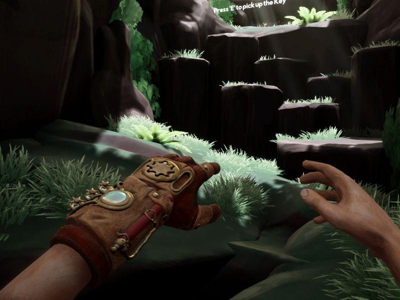 Edric's hands