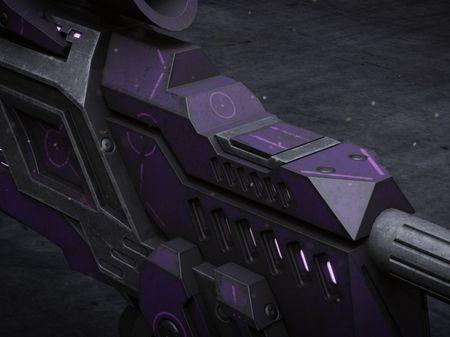 Sci-Fi Sniper Rifle