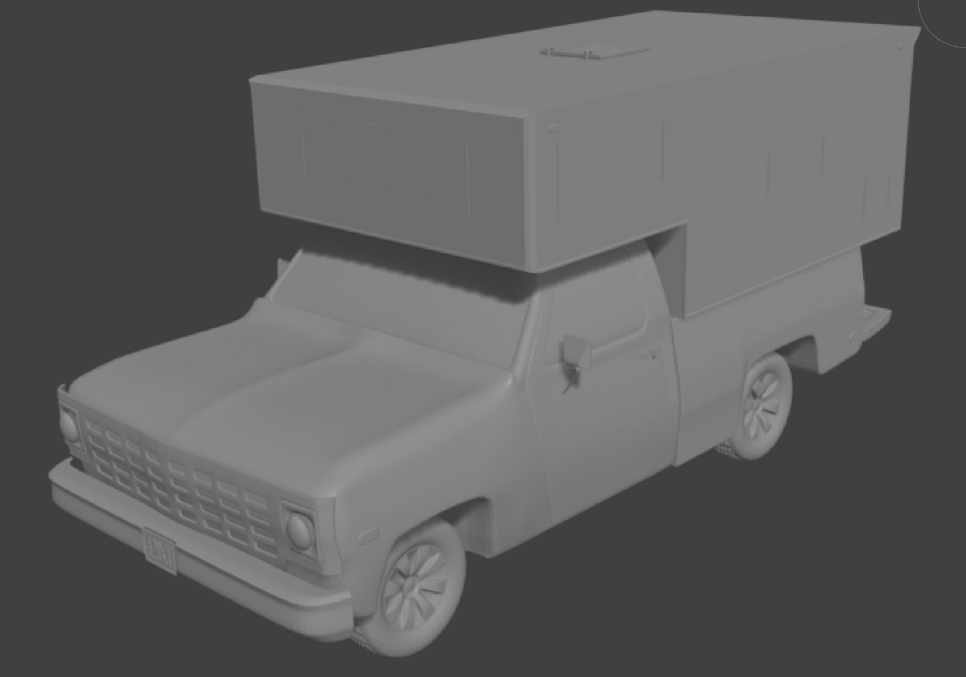 Family Roadtrip - phase 2 - add some color detail hopefully to be replaced by proper textures and normal maps later.
