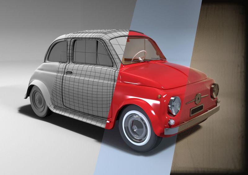 Fiat 500F Belina
