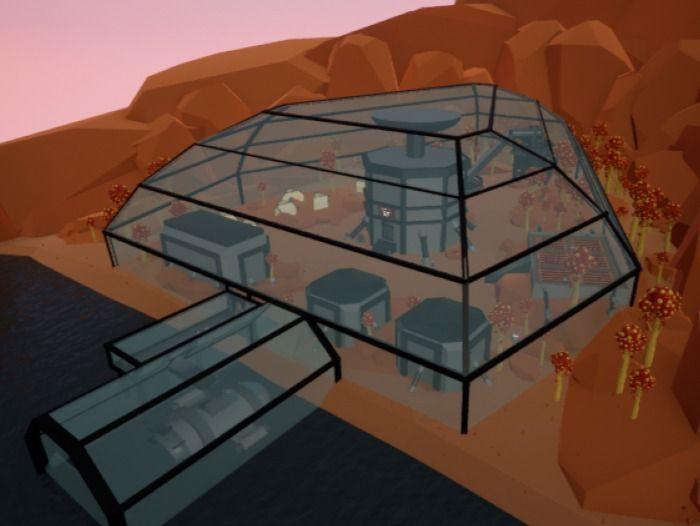 Planet Vantare - Space RPG Level Design