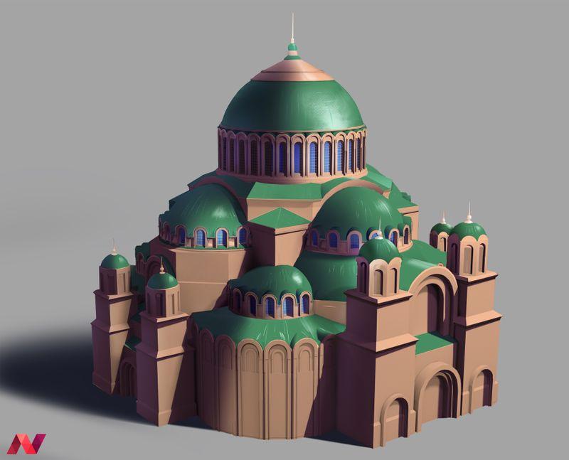 Kronstadt naval cathedral redesign