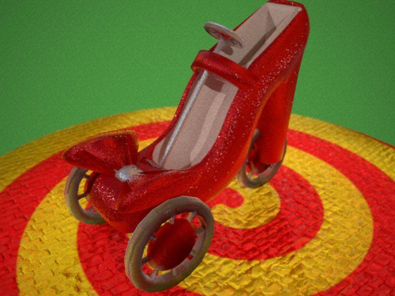 Wizard Of OZ: Dorothy's Ruby Slipper Kart