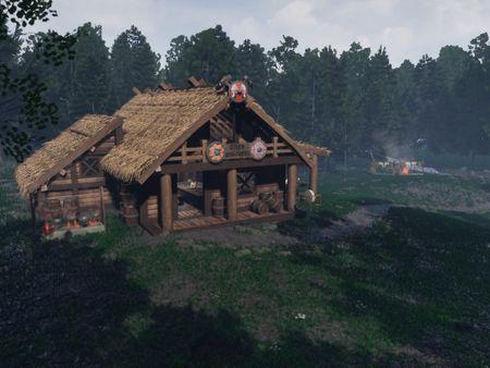Viking Blacksmith Workshop and Armory