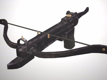 Game-ready Battlefield Crossbow