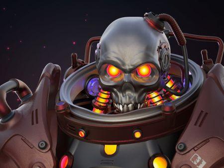 Zark Skull Character