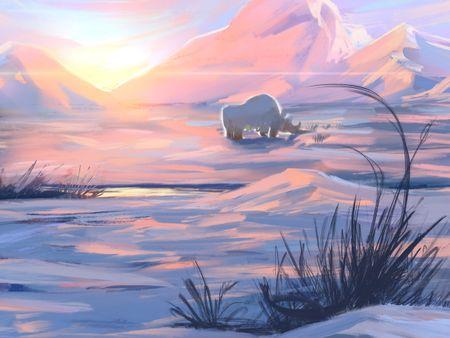Polar Rhinoceros