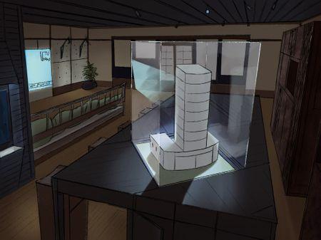 Rebel's apartment
