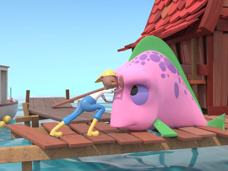 the Giant Pink Fish