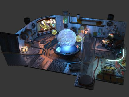 Ratchet & Clank Concept Room