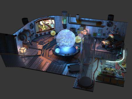 Ratchet & Clank Concept Room