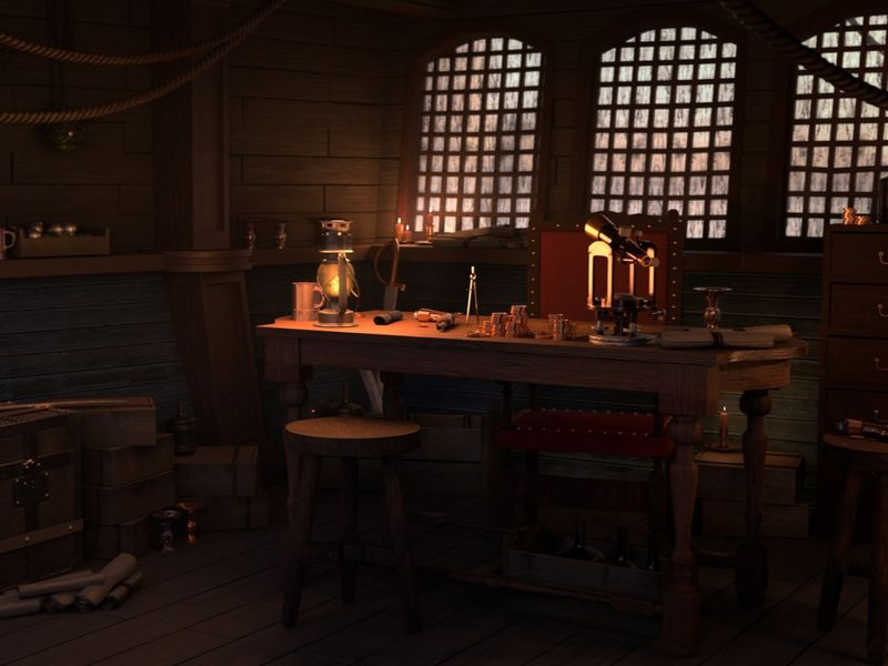 Pirate Cabin