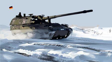 Study Panzerhaubitze
