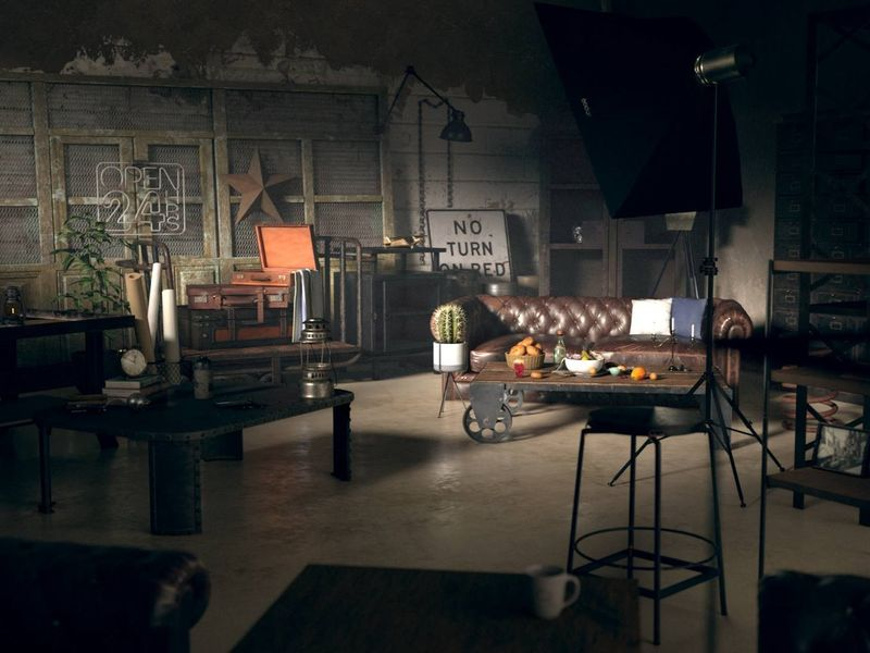 Interior/Tonystark house scene