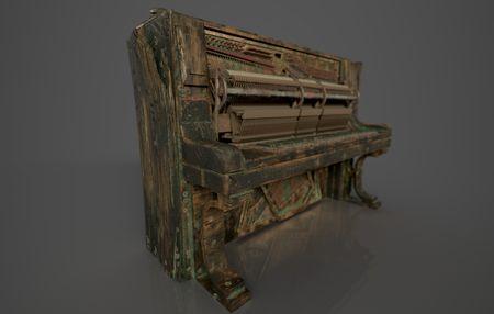 Pirate Captain's Piano
