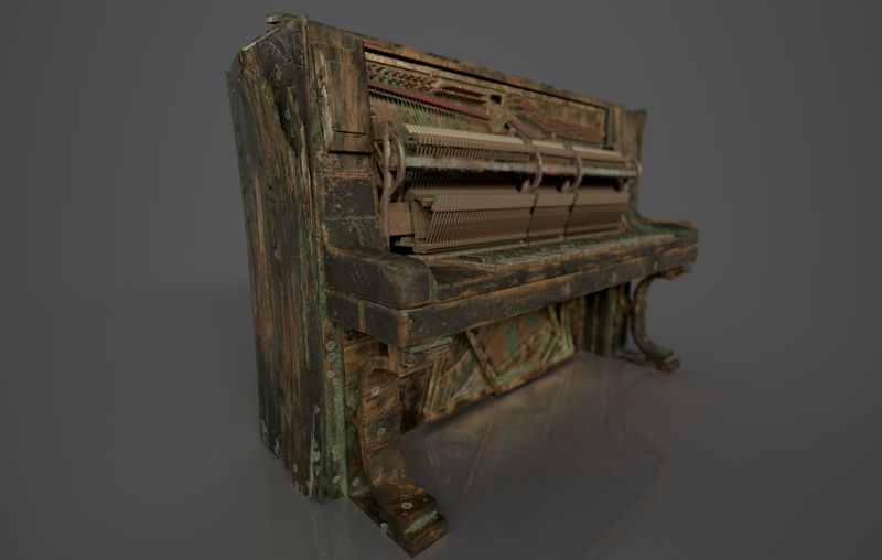 Pirate Captain's Piano