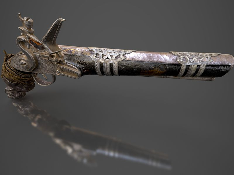 Pirate's Antique Flintlock