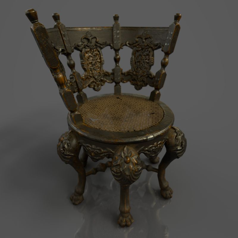 Dutch Colonial Burgomaster Chair