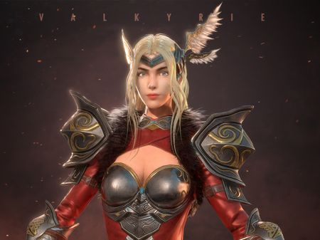 Valkyrie Game Character Modelling