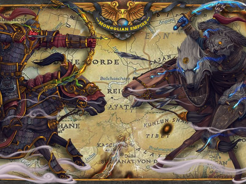 Ancient Mongolian empire