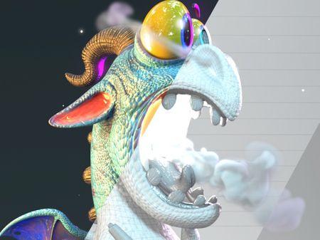 Painter Dragon