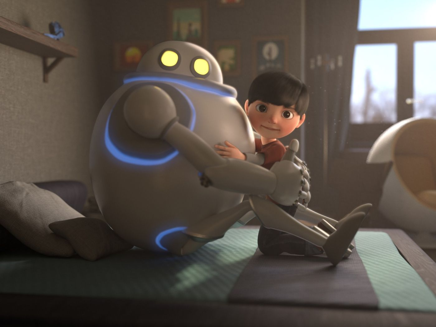 "CGI Animated Short Film: ""My BFF"""