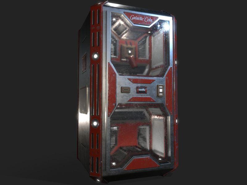 Sci-Fi Vending Machine