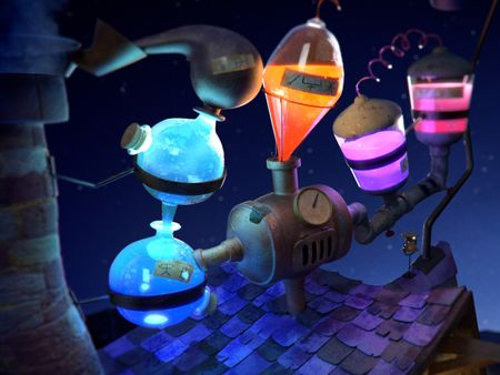 The Alchemist's Lab - Facade