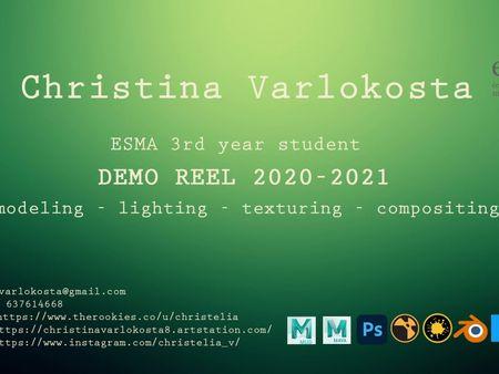 Demoreel Lighting Compositing 2020-2021