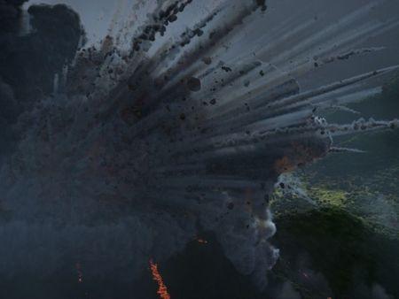 Volcano and Dragon VFX