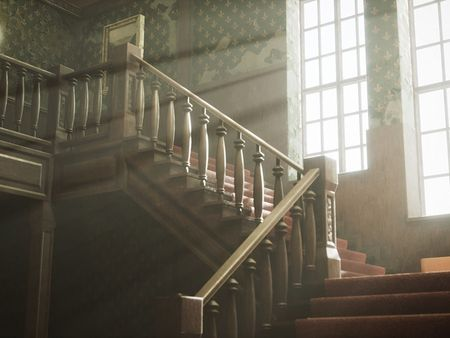 UE4 Modular Victorian Mansion Environment