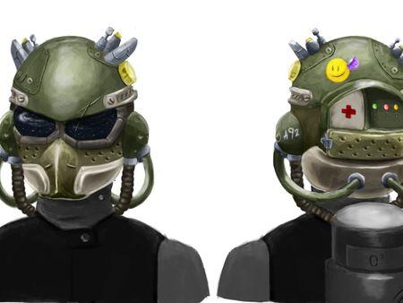 Space Marine Helmet.