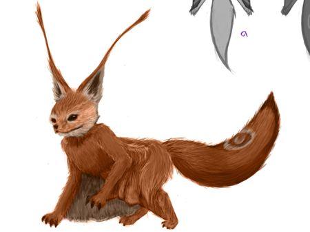 Foxerfly creature.