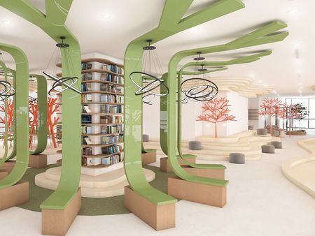 working within trees ── office design